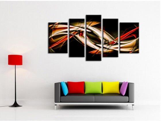 cadre d co animaux leopard noir et blanc dans la cat gorie animaux. Black Bedroom Furniture Sets. Home Design Ideas