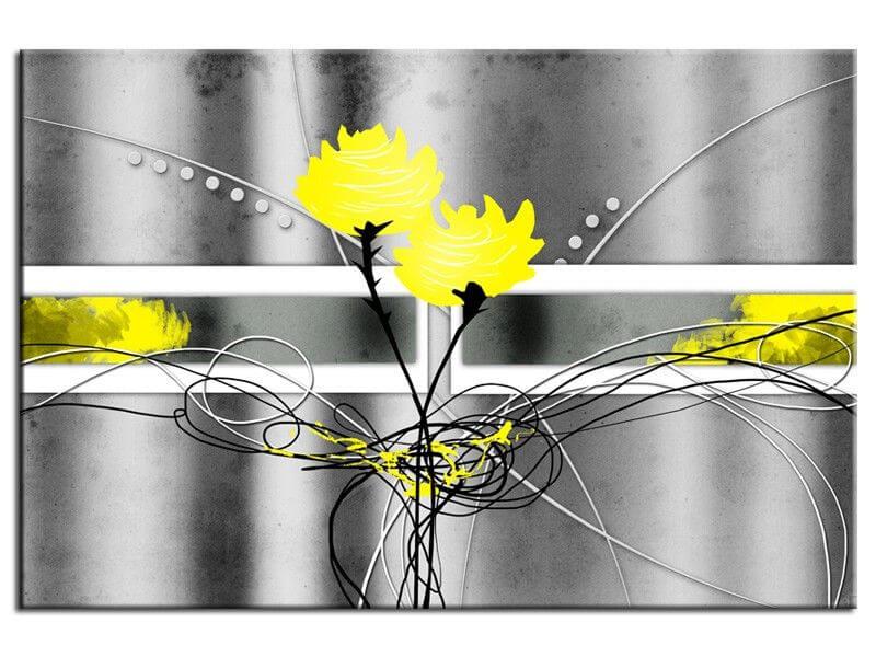 tableau cadre photo sur toile roses tableau d co fleurs. Black Bedroom Furniture Sets. Home Design Ideas