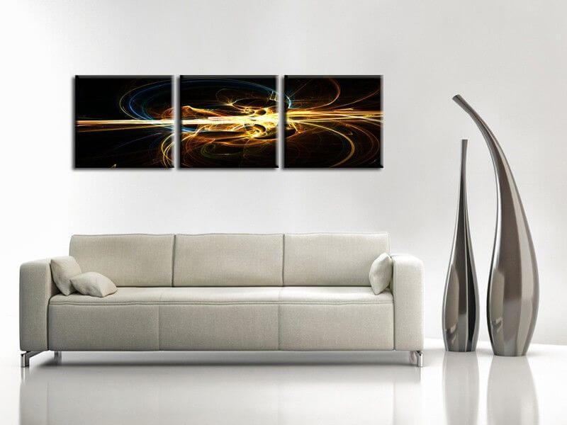 tableau mural deco moderne abstrait tableau abstrait hexoa. Black Bedroom Furniture Sets. Home Design Ideas