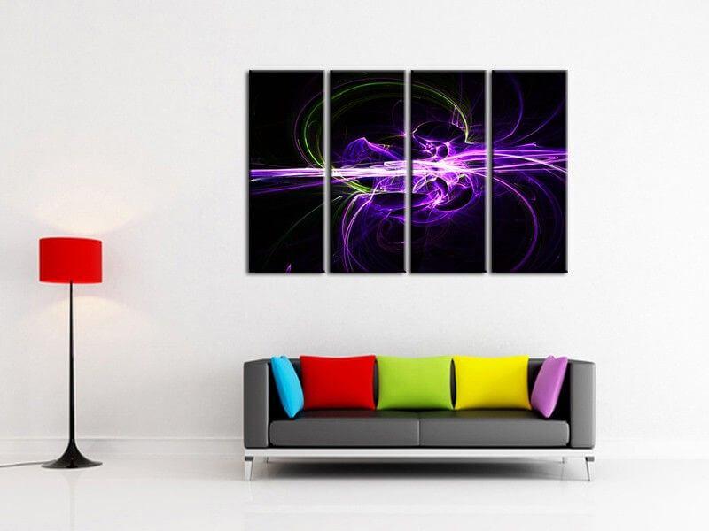 tableau mural deco moderne abstrait dans la cat gorie abstrait. Black Bedroom Furniture Sets. Home Design Ideas