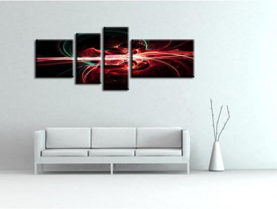Tableau toile d coration moderne private tableau de nu - Tableaux toiles decoration ...