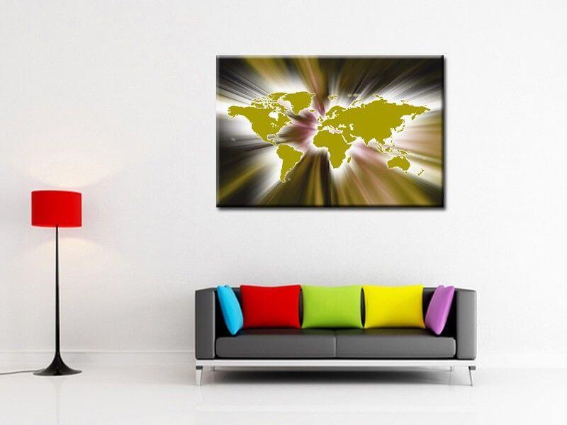 tableau peinture acrylique d coration murale abstraite. Black Bedroom Furniture Sets. Home Design Ideas