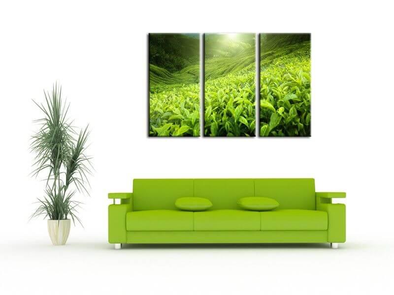 Tableau d coration moderne tournesol tableau d co fleurs - Decoration tableau moderne ...