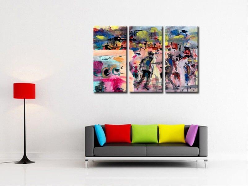 deco tableau moderne paris tour eiffel tableau urbain. Black Bedroom Furniture Sets. Home Design Ideas