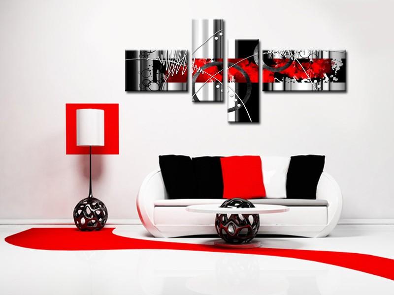 Comment choisir un tableau abstrait hexoa for Tableau deco design toile