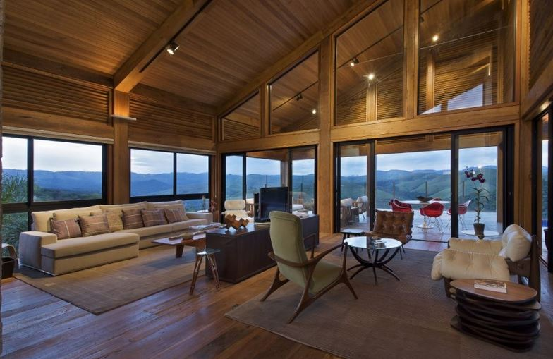 interieur maison - Maison Moderne Bois