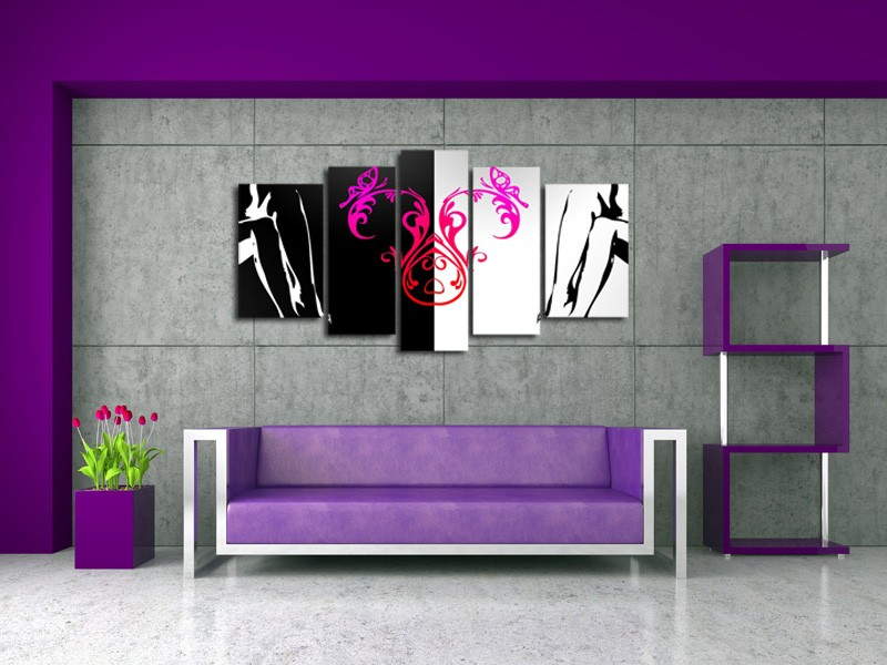 comment bien choisir un tableau contemporain hexoa. Black Bedroom Furniture Sets. Home Design Ideas