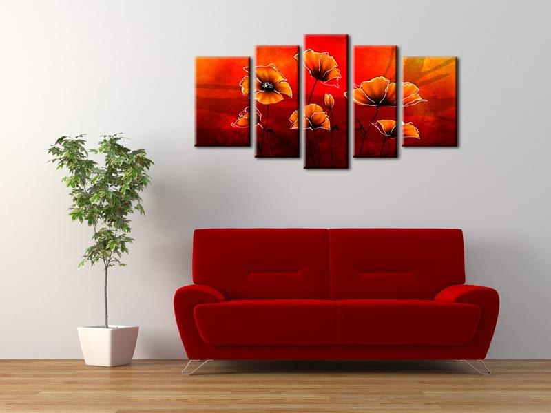 les tendances de la deco murale hexoa. Black Bedroom Furniture Sets. Home Design Ideas