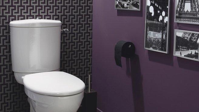 Id Es D Co Tableau Pour Des Toilettes Originales Hexoa