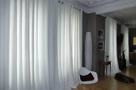 D co int rieure design des rideaux l gants en lin - Rideau lin blanc ikea ...