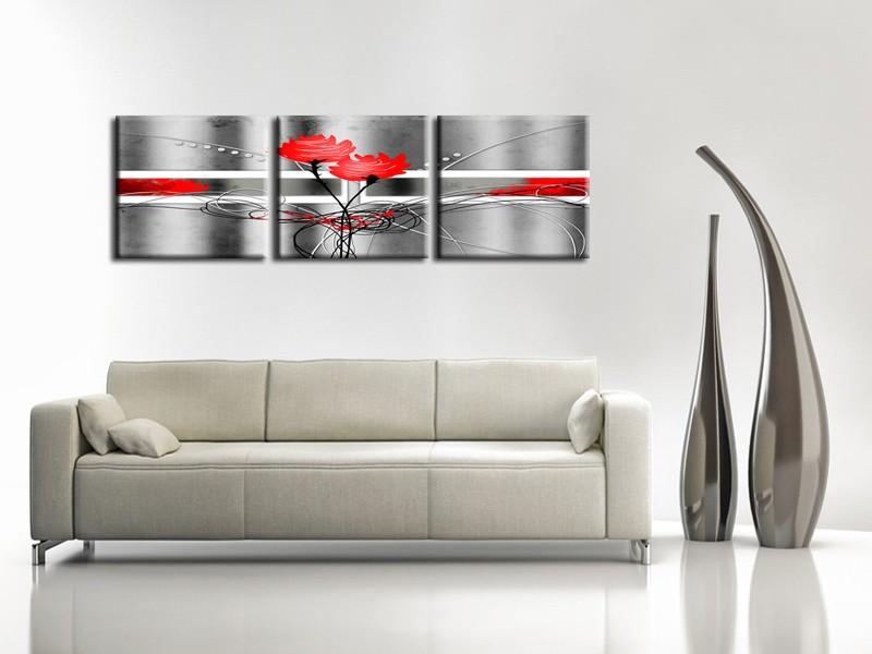 Le tableau triptyque hexoa - Toile triptyque design ...