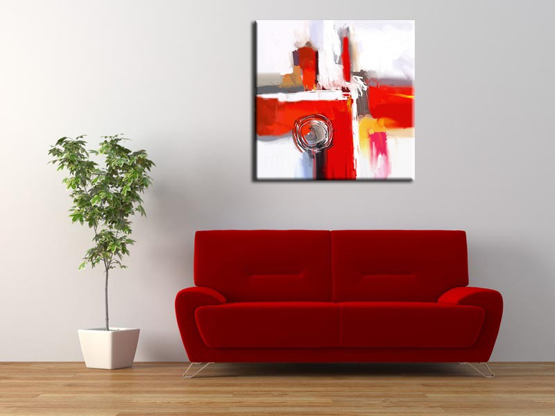 peinture abstraite quand l art s invite chez vous hexoa. Black Bedroom Furniture Sets. Home Design Ideas