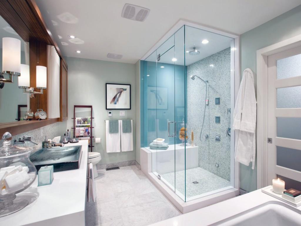 Refaire sa salle de bain avec un petit budget hexoa for Refaire petite salle de bain