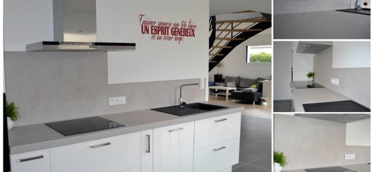 Les enduits effet b ton cir pour un style industriel for Vernis pour beton cire