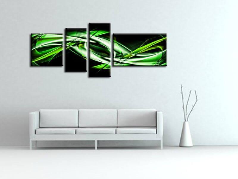 tableau d co abstrait pas cher sur hexoafr d co murale. Black Bedroom Furniture Sets. Home Design Ideas