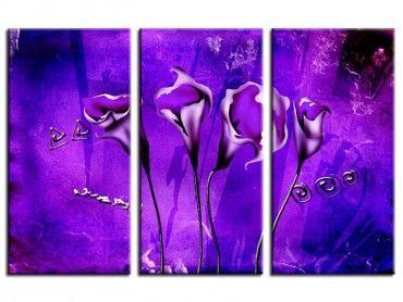 Tableau peinture moderne sublime callas