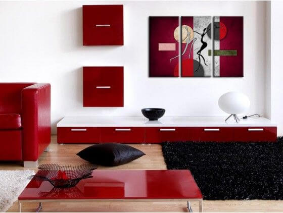 decoration murale design peinture. Black Bedroom Furniture Sets. Home Design Ideas