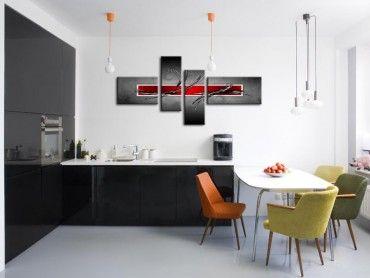 Tableau abstrait mural décoration design