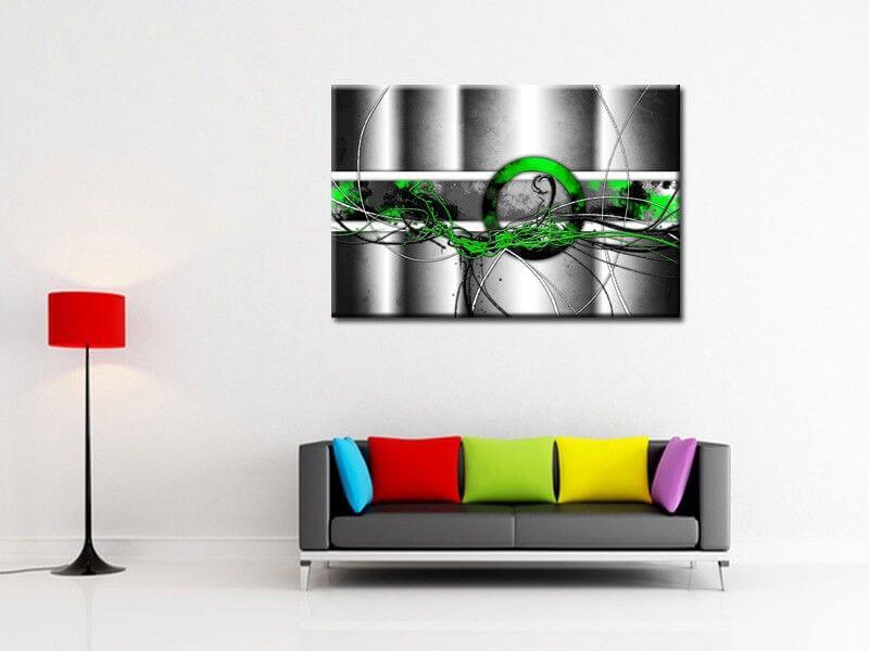 tableau mural pas cher deco moderne abstraite sur. Black Bedroom Furniture Sets. Home Design Ideas