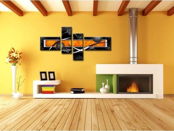 Tableau peinture moderne abstraite deco