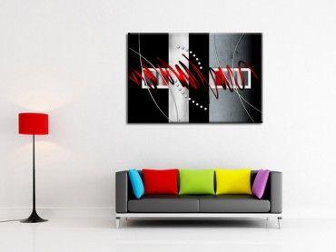 Tableau peinture décoration murale design abstract