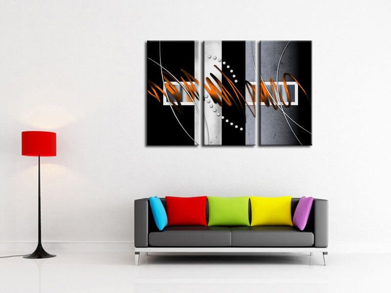tableau d co pas cher peinture. Black Bedroom Furniture Sets. Home Design Ideas