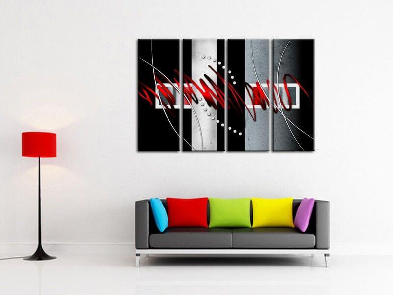 D coration murale design tableau d co pas cher sur for Peinture murale design
