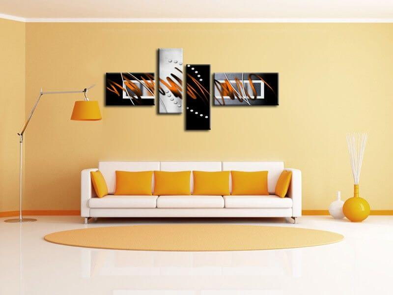 Peinture murale design for Decoration murale pas cher