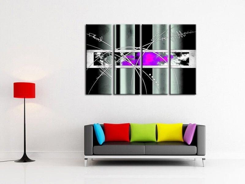 Achat de tableaux modernes pas chers d co murale abstraite - Decoration tableau moderne ...