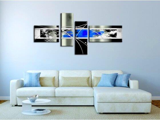 Tableau abstrait décoration moderne