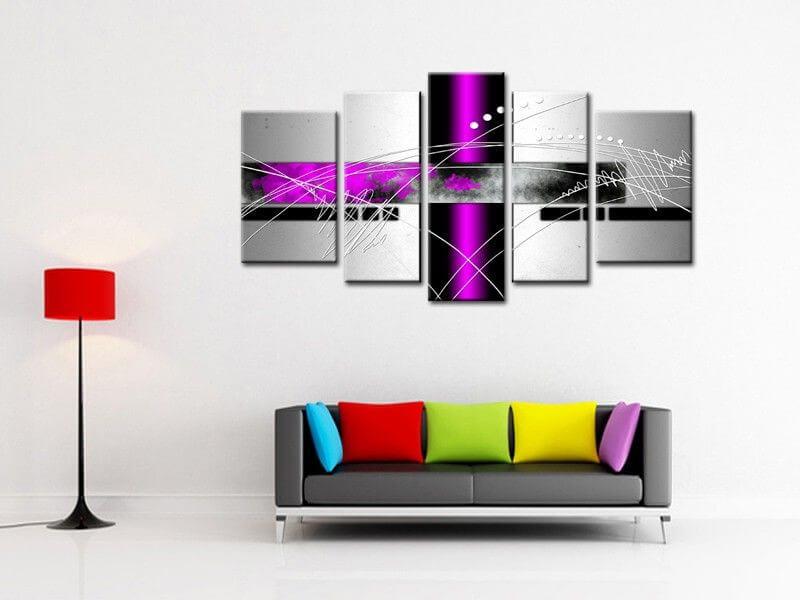 tableau abstrait original d coration murale moderne sur hexoa. Black Bedroom Furniture Sets. Home Design Ideas
