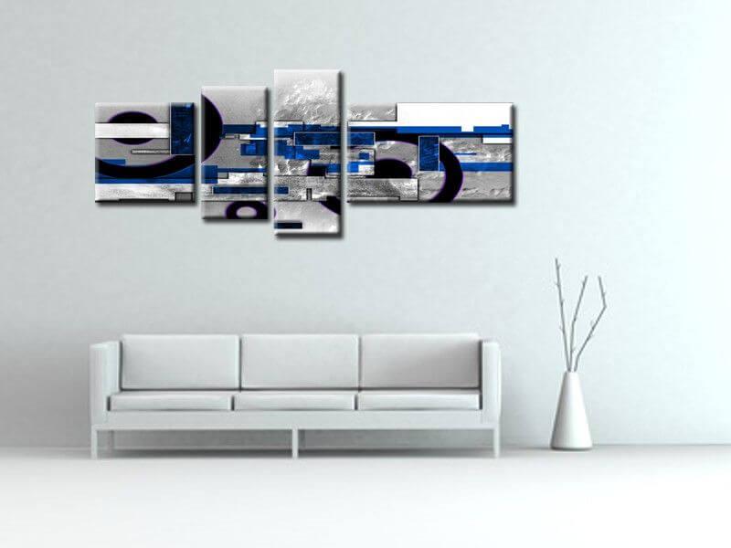 Tableau moderne abstrait pas cher achat de tableaux design - Tableau moderne pas cher ...