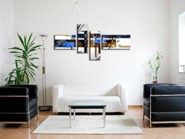 Tableau peinture décoration moderne abstrait