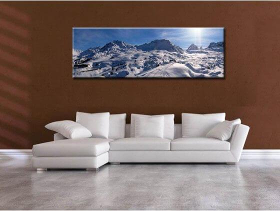 Deco Paysage tableau design paysage montagne pyrénées - vente de tableaux deco