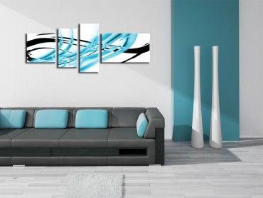 Tableau peinture design Folka