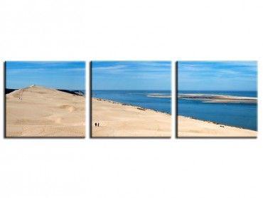 Tableau panorama design dune du pyla