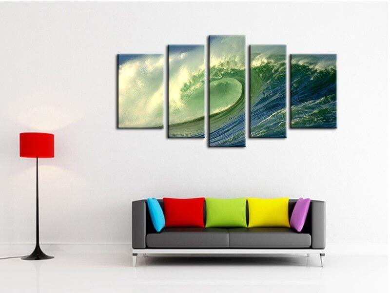 d coration murale surf tableau d co pas cher toile plexi et alu. Black Bedroom Furniture Sets. Home Design Ideas