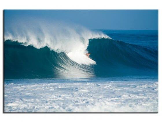 Tableau moderne surfer backside