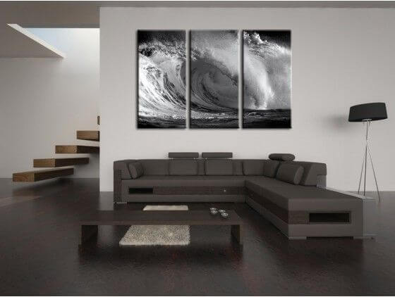 tableau d co moderne surf pas cher boutique d coration. Black Bedroom Furniture Sets. Home Design Ideas