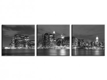 Tableau new york panorama city lights
