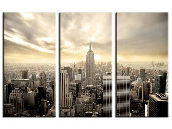 Tableau contemporain Manhattan