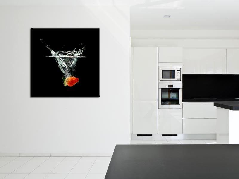 Tableau cuisine design : Achat de tableaux alu, toile et plexi ...
