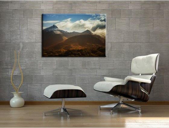 Tableau photo montagne La Rhune au Pays Basque