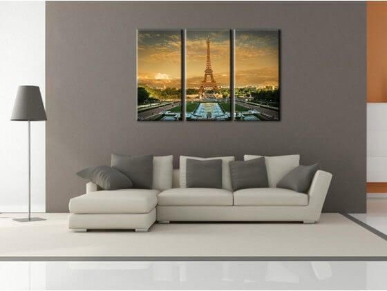 tableau paris tour eiffel d coration murale design pas ch re. Black Bedroom Furniture Sets. Home Design Ideas