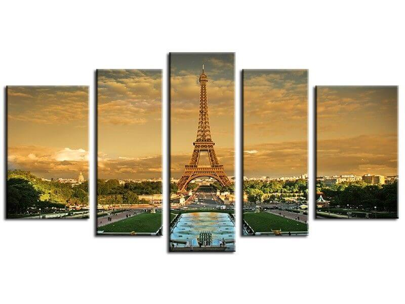 Tableau paris tour eiffel d coration murale design pas ch re for Deco in paris avis