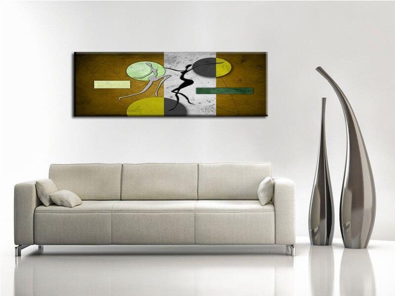 Tableau peinture design d coration murale en vente sur hexoa - Peinture murale design ...