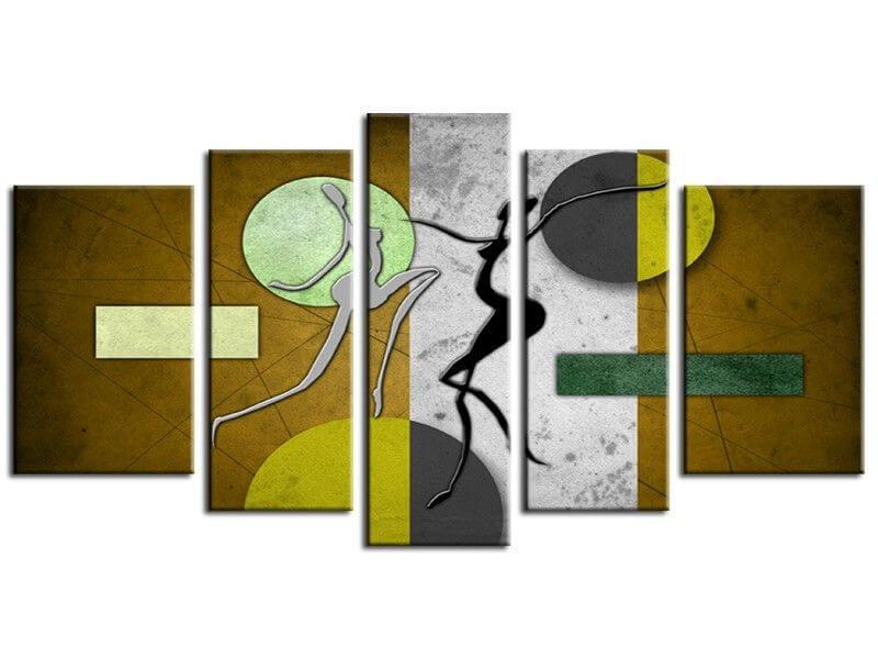 Tableau peinture design d coration murale en vente sur hexoa for Peinture murale design