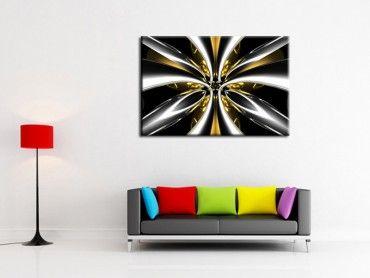 Tableau moderne abstrait lumière