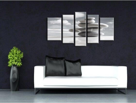 Tableau zen d coration murale originale vente de tableaux for Decoration murale geante new york