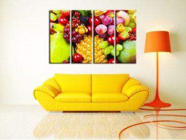 Tableau deco Sélection de fruits
